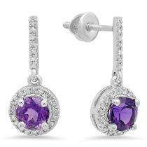 Diamond & Gemstone Earrings