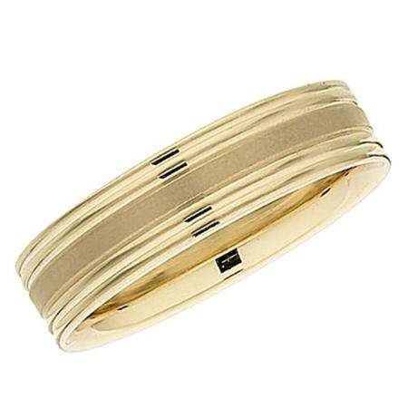 14k Yellow Gold Men