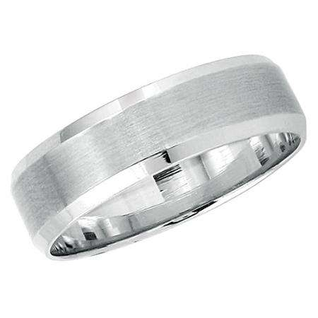 14k White Gold Men