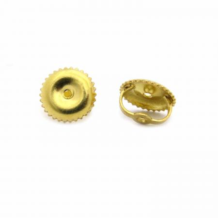 dbee169bc 10K Yellow Gold Screw Back Earring Backings Only - Dazzling Rock